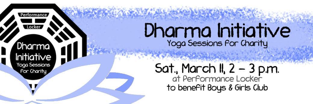 Dharma Initiative | Yoga for Charity