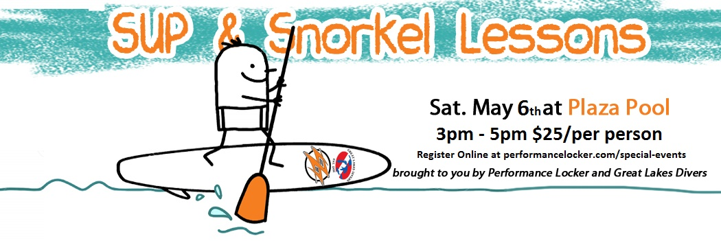 Learn How to SUP & Snorkel May 6th!