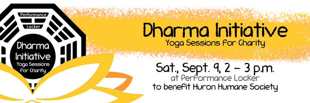 Dharma Initiative | Yoga for Charity September 9th at 2pm!